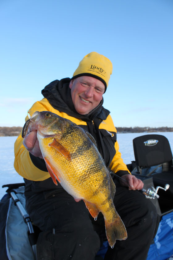 Ice conditions fishing reports fish articles december 2015 for North dakota ice fishing
