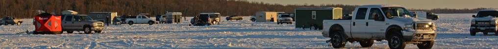 image of vehicles on the ice