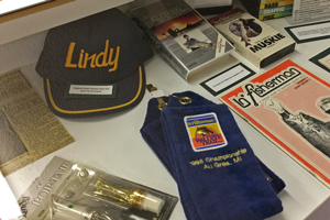 image of Lindy display at mn fishing museum