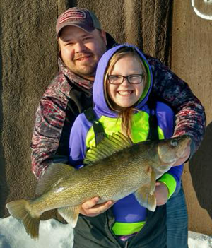 image of big walleye