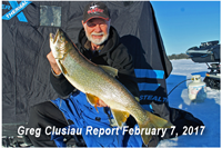 image of Greg Clusiau with big Lake Trout