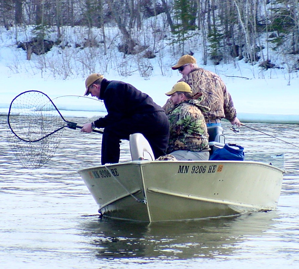 Minnesota fishing reports archive winter 2006 for Rainy river fishing