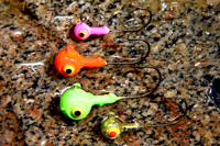 image of fishing jigs