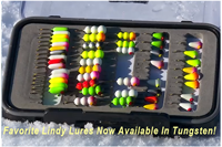 image of Lindy Tungsten ice jigs