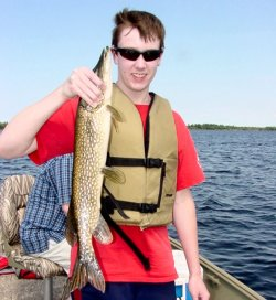 Northern Pike Jared Sundin 7-29-06