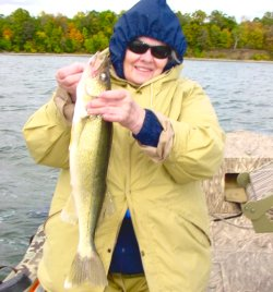 Walleye, Sandy Finch 9-19-06