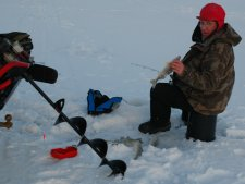 Walleyes Ice Fishing Arne Danielson 1-13-10
