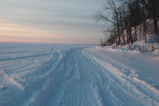 Ice Road Bowens Flat