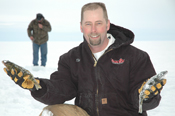 Tim Jensen Deer River with Leech Lake Perch