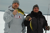 Cass Lake Perch Tony and Phil