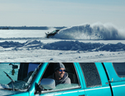 Chad Benson Plowing Cass Lake
