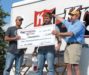 Ryan and Shawn Klein Win Walleye Tournament
