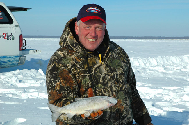 Upper red lake ice fishing reports hunting html autos for Lake winnie fishing report
