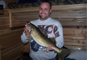 Walleye Ice Fishing Winnie