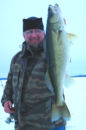 Arne Danielson Walleye Leech Lake
