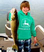 Leech Lake Walleye Jesse Painter