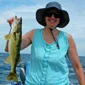 Lake Winnibigoshish Walleye Marsha Newsome