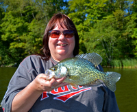 Cutfoot Sioux Crappie Fishing