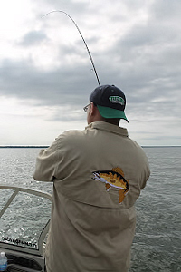 Dave Holmbeck Fishing Action