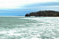 Lake Mille Lacs Ice Out 2012