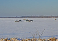 Cass Lake Ice Conditions