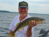 Leech Lake Walleye Fishing