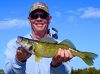 Walleye Fishing Steve Shears