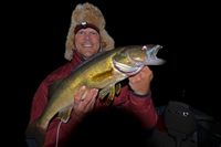 Walleye Night Fishing Leech Lake