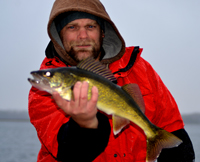 Walleye Fishing Round Lake