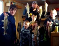 Ice Fishing Red Lake Walleyes