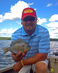 Bluegill fishing Grand Rapids