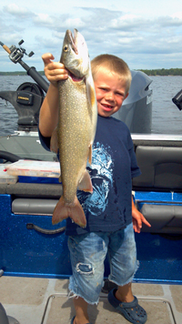 Lake Trout Fishing Pokegama