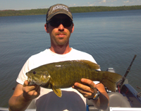 Smallmouth Bass Trout Lake
