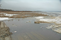 Bowstring Lake Ice Conditions