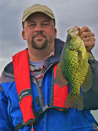 Crappie caught by Brian Castellano on Cutfoot Sioux