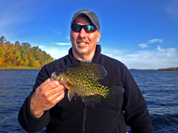 Crappie caught by Phil Goettl