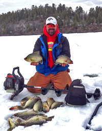 Crappies Rainy Lake
