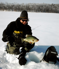 Crappie Ice Fishing Dimich