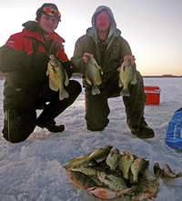 Crappies On The Ice