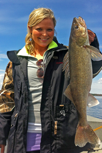 Walleye Caught by Sharae Williams Lake Winnibigoshish