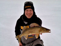 Ball Club Lake Walleye