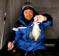 Ice Fishing Crappie Cutfoot Sioux