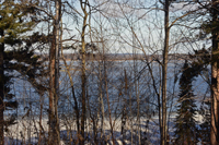 Image of ice conditions at Deer Lake