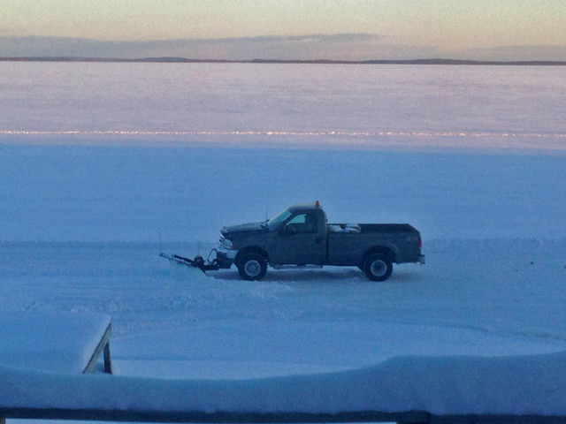 Ice conditions fishing reports fish articles december 2015 for Bowstring fishing report