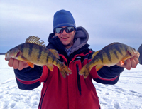 Perch Ice Fishing Prokop
