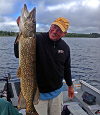 Northern Pike caught by Jeff Sundin