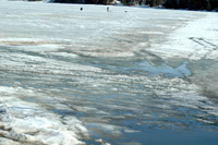 Ice Report Pokegama Lake