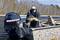 Grant Prokop Walleye Fishing Cutfoot Sioux