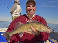 Walleye caught on Upper Red Lake by Paul Kautza