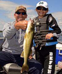 Walleye caught by jackie jares on winnibigoshish for Lake winnie fishing report
